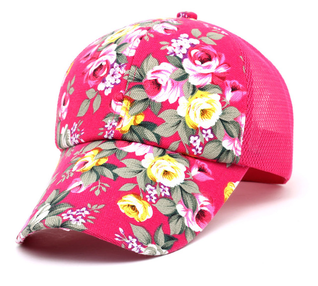 design intemporel 09a1f 56e2d € 5.34 |Premium femmes floral chapeau de baseball printemps Deus casquette  décontractée fille snapback chapeau sport haut de gamme loisirs plat à Swag  ...