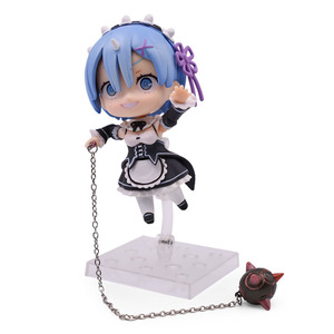 Image 3 - Re:Life In A Different World From Zero Rem Ram Action Figure PVC Toys Collection Model Doll For Friends Gifts 9.5cm