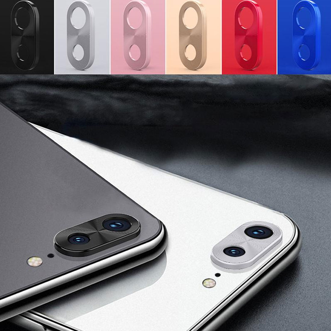 Camera Lens Protector Ring Plating Aluminum For Xiaomi Redmi 7 Note 7 7Pro Camera Case Cover Ring Protection protective luxury