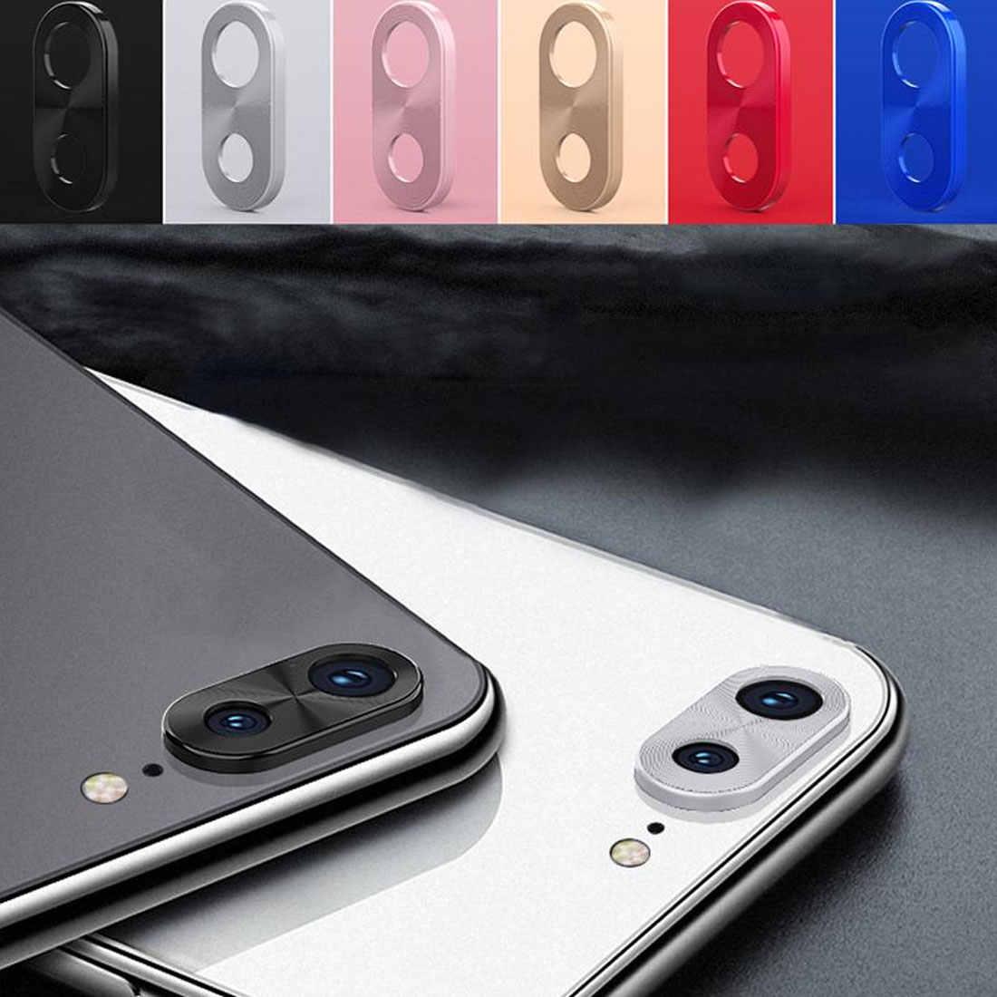 Pelindung Lensa Kamera Ring Plating Aluminium untuk Xiaomi Redmi 7 Dicatat 7 7Pro Kamera Case Cover Cincin Perlindungan Pelindung Mewah