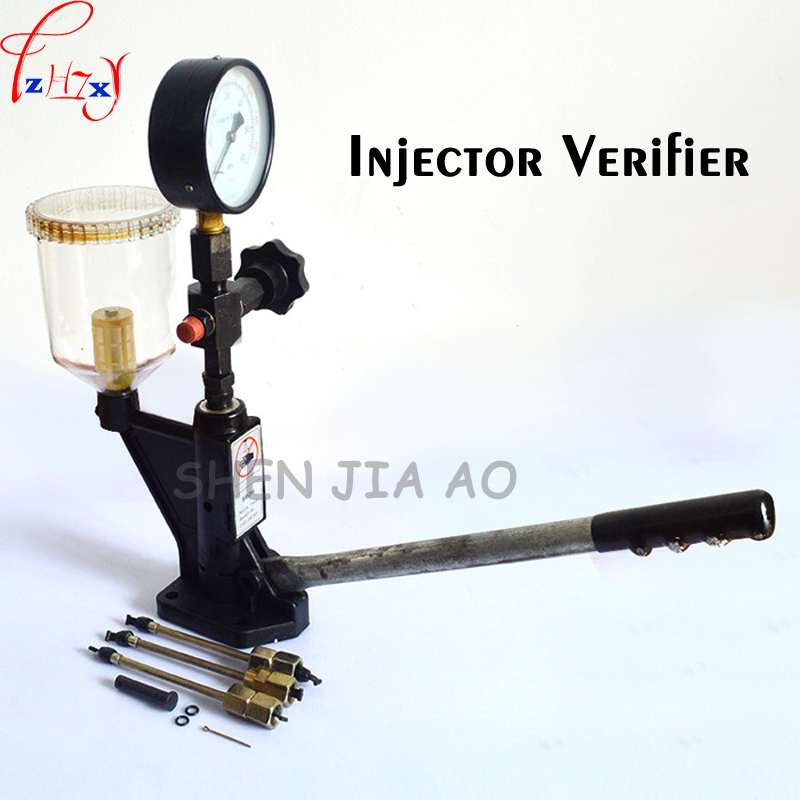 Injector tester S60H hand pressure calibrator 60 Mpa school nipple tool test bench checker nozzle tester 1PC injector tester s60h hand pressure calibrator 60 mpa school nipple tool test bench checker nozzle tester 1pc