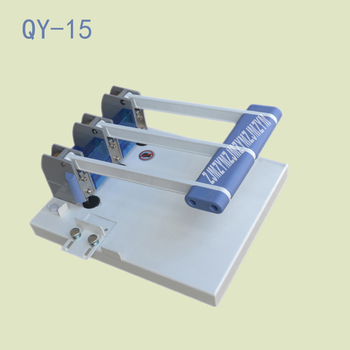 1PC QY-15 Heavy Duty Ream Guillotine A4 Size Stack Paper Cutter Paper Cutting Machine,punching machine 3mm/4mm/5mm/6mm