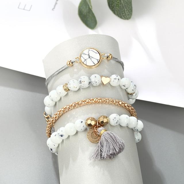 Men's And Women's Bracelets 4 Pieces / Set  2