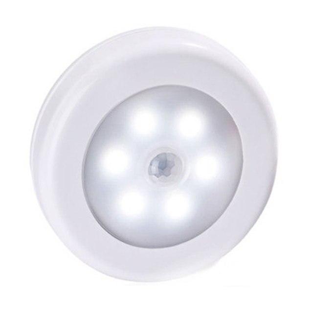 壁motionセンサーledナイトライト緊急led光検出器バッテリ駆動ledキャビネットランプmotionライトホームトイレライト