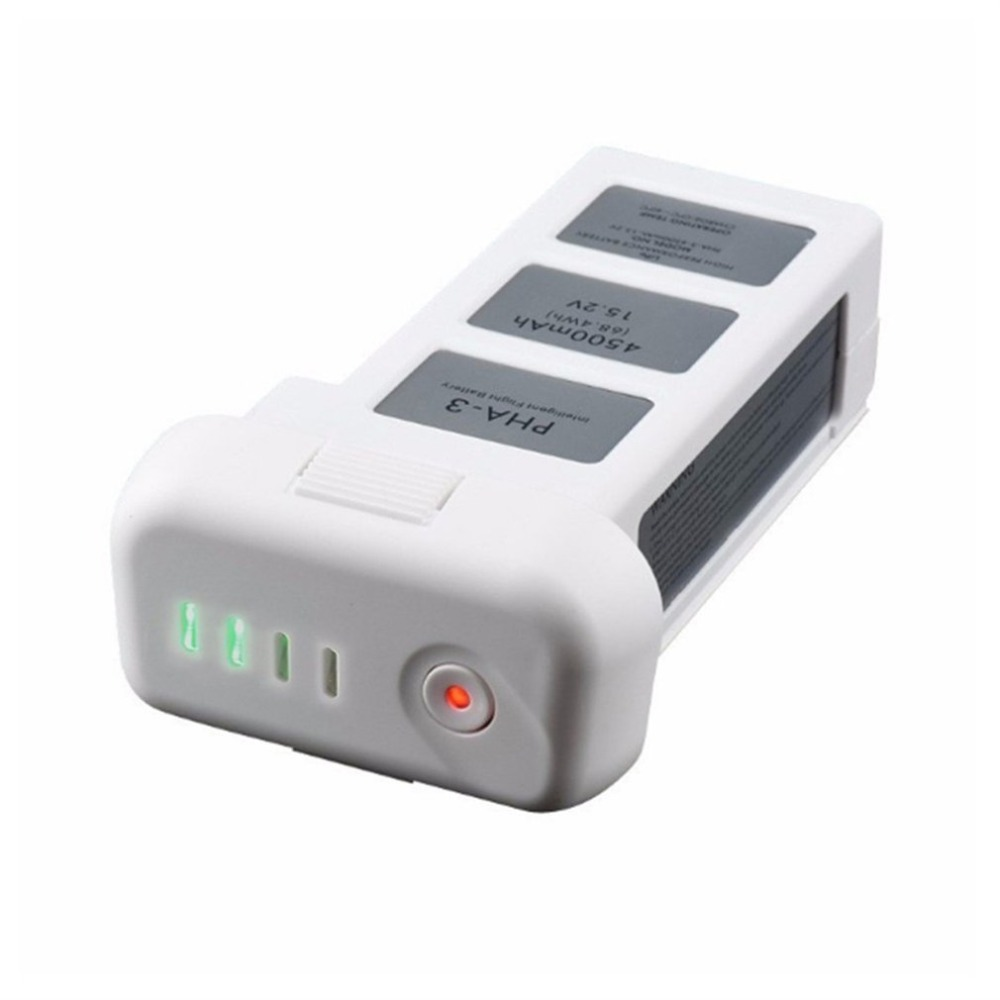 Батарея для дрона DJI phantom 3 Professional/3/standard/Advanced 15,2 V 4500mAh LiPo 4S Интеллектуальная батарея до 23 минут - 4