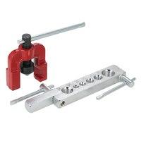 NEUE 6 Stirbt Schläuche Rohr Abfackeln Werkzeuge Set Kits Holzbearbeitung Metall Verlängerung Werkzeuge 3/16-5/8 Air Bremse Linie Abfackeln rohre
