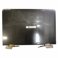 13.3 LCD LED Touch Screen Digitizer Assembly Replacement Upper Half Part For HP Spectre x360 13 4000 2560*1440 BLACK