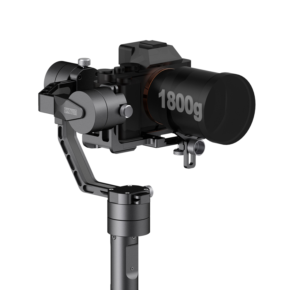 ZHIYUN Crane V2 3 Axis Gimbal Stabilizer for Mirrorless Camera and DSLR for Sony A7 Panasonic LUMIX Nikon J Canon PK Hohemn in Handheld Gimbals from Consumer Electronics