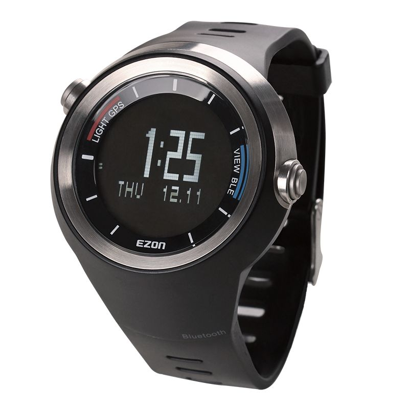 Ezon Outdoor Sports For Smart GPS Long Stanby Bluetooth Watches Running Male Multifunctional 5ATM Waterproof Electronic Watch G2 smart baby watch q60s детские часы с gps голубые