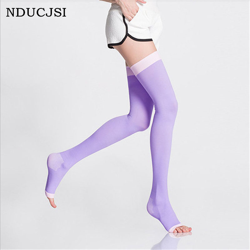 Autumn 420D Women Cotton Tights Varicose Stockings Black Collant Anti Burning Design Lycra Pink Sleeping Professional Stovepipe