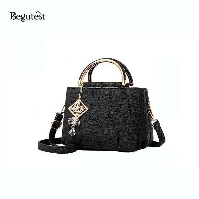 Begutest Women Handbags 2017 Luxury Designer Fashionable Joker Female Shoulder Bag Casual Comfortable Las Crossbody