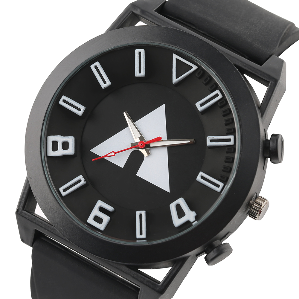 Radošo vīriešu pulksteņi 3D displejs trīsstūris minimālisma - Vīriešu pulksteņi