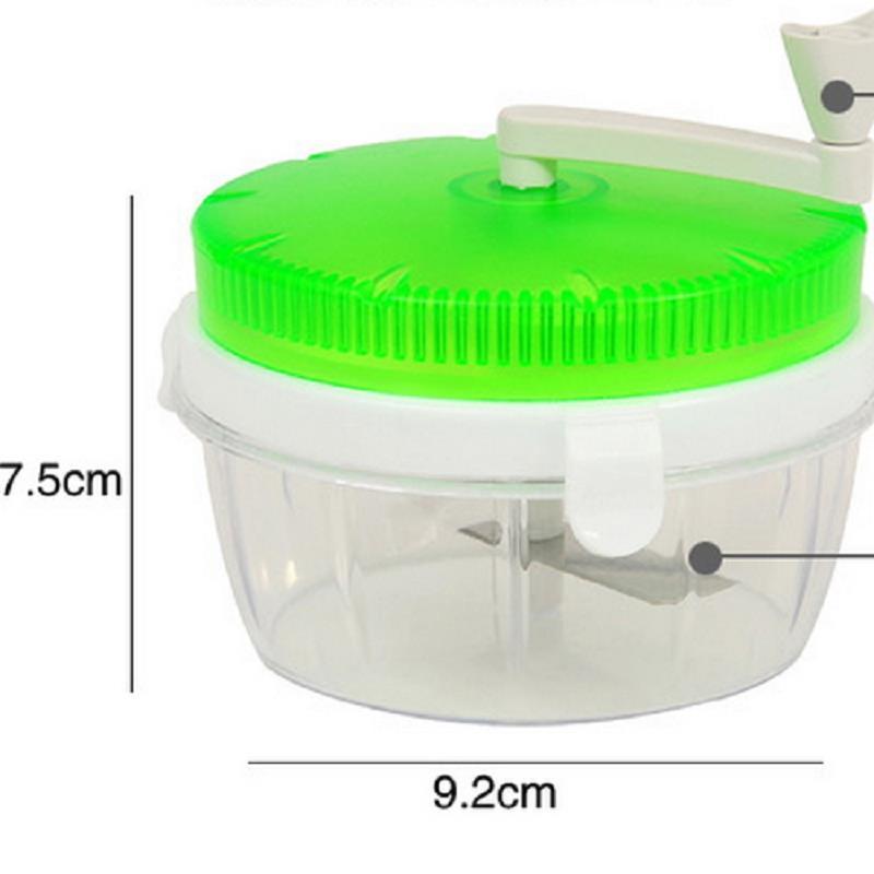 Sealing Manual Food Processor Vegetable Chopper Slicer Dicer Kitchen Gadget