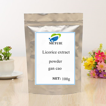 цена на 100g-1000g licorice extract powder gan cao licorice root extract Good quality, no additions, free delivery