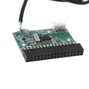 Image 3 - USB Cable to 34pin Floppy Interface Adapter PCB Converter Board driver board U disk to floppy disk PCB Board
