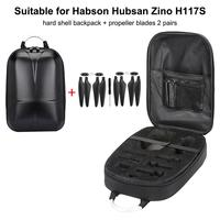Remote Control Aircraft Backpack For Habson Hubsan Zino4K Drone Backpack Waterproof Handbag Case Hard Shell Storage Bag