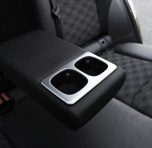 New Honda Accord >> Fit For Nissan Qashqai J11 2014 2015 2016 2017 Chrome Rear Seat Drink Cup Holder Chrome Trim ...