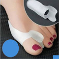 Silicone Gel Bunion Big Toe Separator Spreader Eases Foot Pain Foot Hallux Valgus Correction Guard Cushion Concealer Thumb