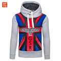 Fashion Brand Hoodies Men Casual Sportswear Man Hoody British flag Eagle Sweatshirt Men Slim Fit Hoodies Moleton Masculino