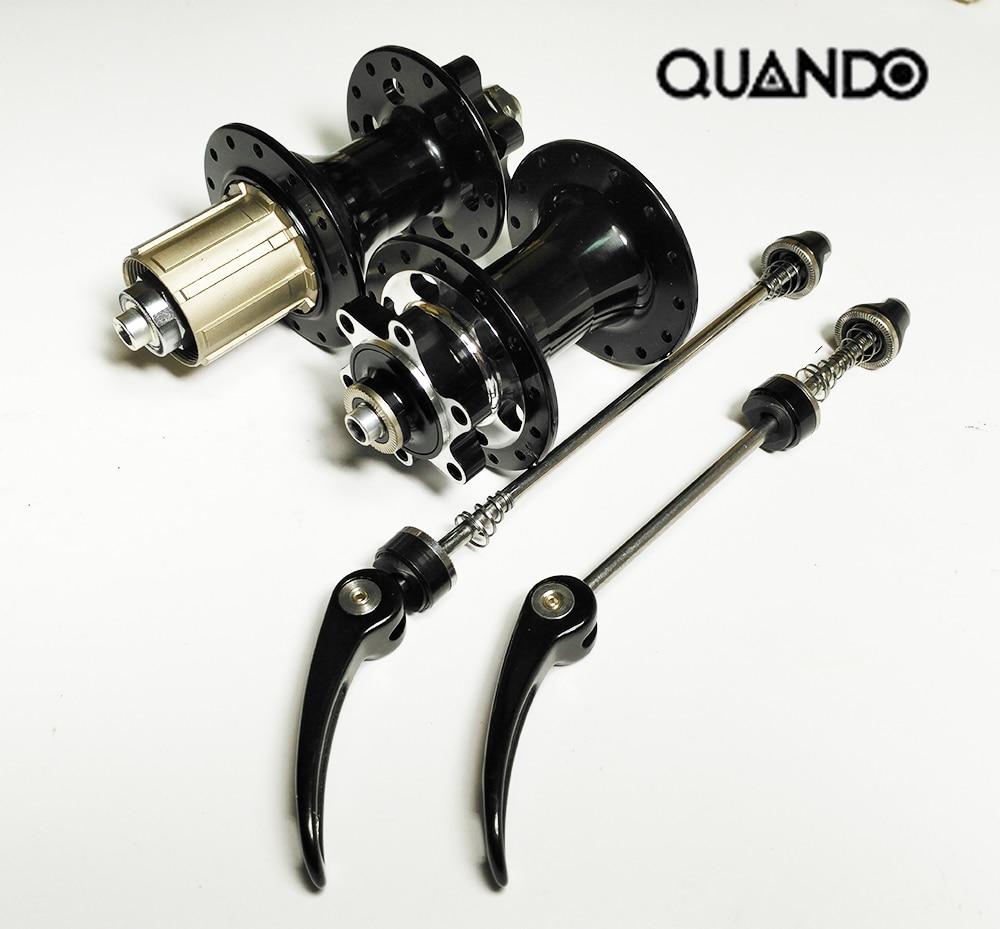 ФОТО Original Quanto aluminum CNC 28 hole sealed bearing disc brake mtb bicycle hub