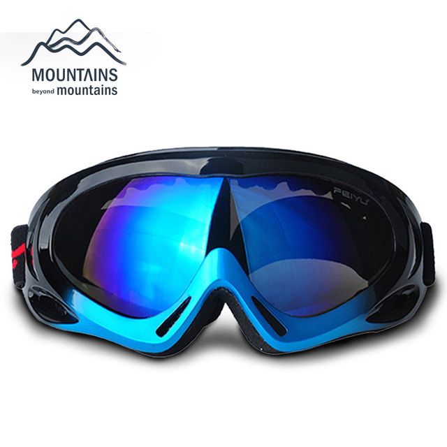 Brouillard de vélos Anti Ski Snowboard Lunettes de sport Lunettes de soleil Lunettes osHte5gN86