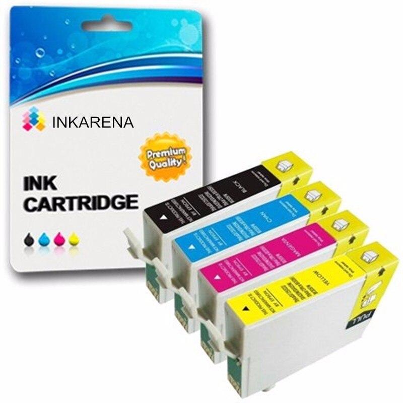 T0921N Ink Cartridge For Epson T0921 92N Ink For Epson Stylus CX4300 TX117 T26 T27 TX106 TX119 TX109 C91 Printer Ink Full Ink снпч epson stylus tx119