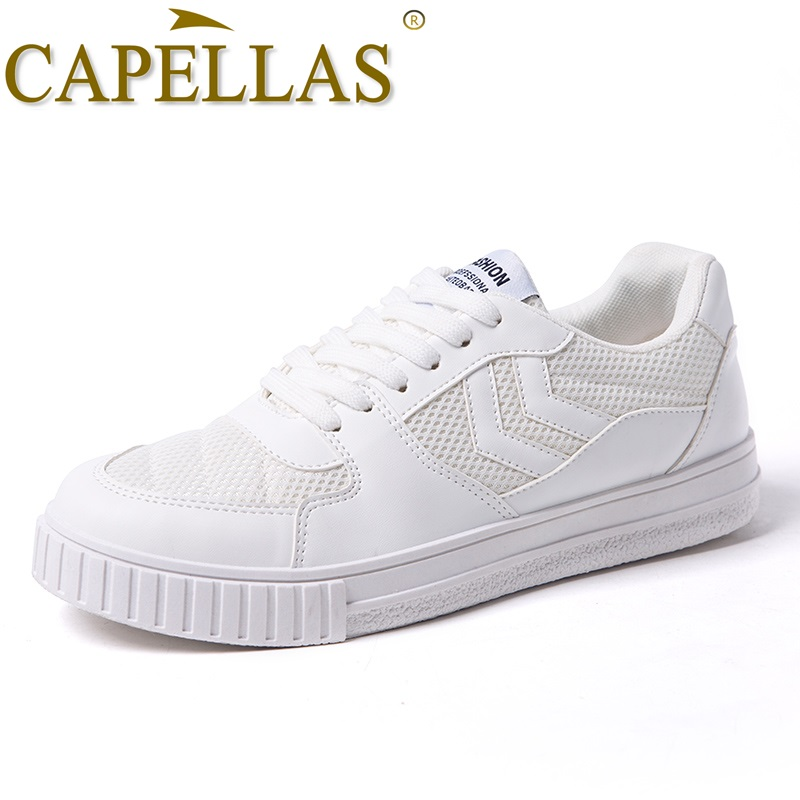 CAPELLAS New Fashion Men Canvas Shoes Herrskor Casual Brand Andas - Herrskor - Foto 2