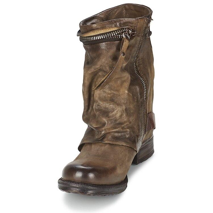 As Zapatos Bota Mujer Botas Nueva as Vaquero Pisos Llegada Para Botines Mujeres De Cuero Picture Señoras Las Genuino Feminina Picture Nieve Caliente Western UH6AqUwnS