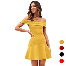 Women Wrapped Chest Elegant Sleeveless Dress High Quality Solid Color Strapless