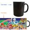 Rick And Morty Mugs Cartoon Mug Kids Cups Tea Cup Heat Sensitive Cup Heat Transforming Heat