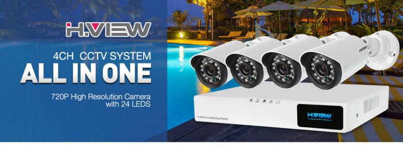 CCTV Security Camera System 8410X5AMC4(1)