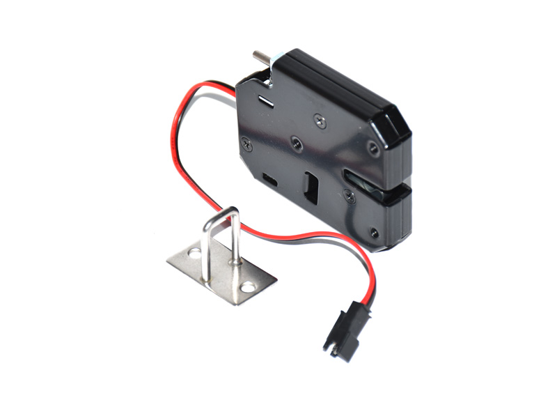 LPSECURITY DC 12V 2A Solenoid Electromagnetic Electric Control Cabinet Drawer Lockers Lock Latch Push-push Design