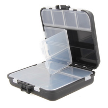 26 Compartments Storage Case Fly Fishing Lure Spoon Hook Bait Tackle Connector Case Box Waterproof Fishing Tackle Boxes Pesca