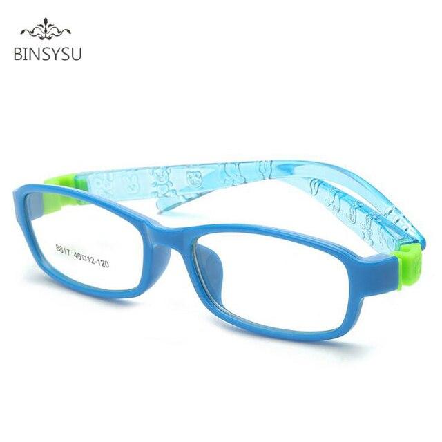 d44463e523 Montura de gafas de seguridad Flexible para niños montura de gafas para  niños TR gafas ópticas