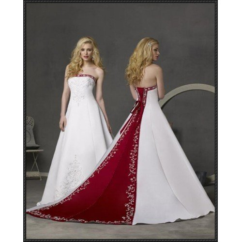 Sexy designer wedding dress