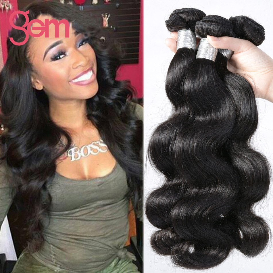 7A Brazilian Virgin Hair Body Wave 4 Bundles Queen Hair Brazilian Body Wave Curly Weave Wet And Wavy Human Hair Extensions 100G от Aliexpress INT