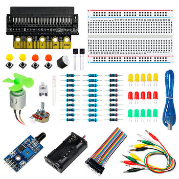 Elecrow Basic Kit For BBC Micro:bit Hottest Selling New Arrival DIY Electronics Parts For Student's Electronics And Programming