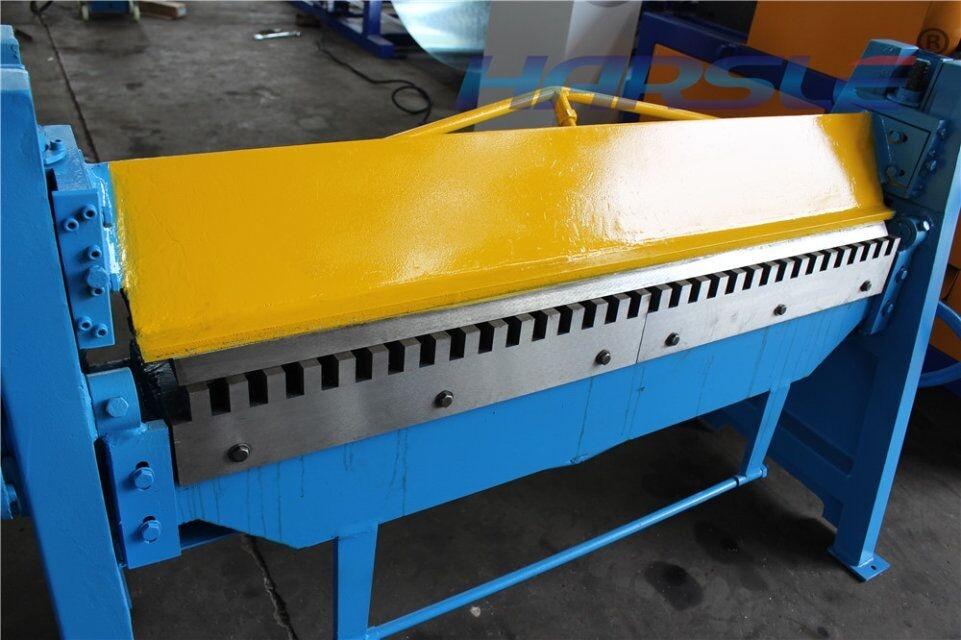 harsle 2016 Hot Sale WS1.5*2000 hand steel plate folding machine 2 meters manual metal bending machine