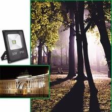 LED Flood Light 10W 20W 30W 50W Floodlight LED Spotlight Outdoor Lighting Projector Reflector Wall Lamp AC 220V Garden Square