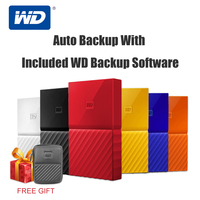 Western Digital My Passport HDD 1TB 2TB 4TB USB 3.0 Portable External Hard Drive Disk with HDD Cable Windows Mac Free Shipping