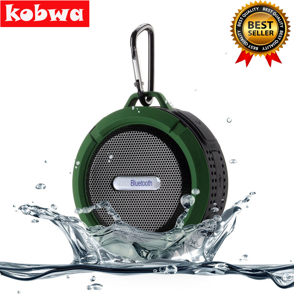 Mini Portable Outdoor Sports Wireless Waterproof Bluetooth 3.0 Speakers Shower Bicycle