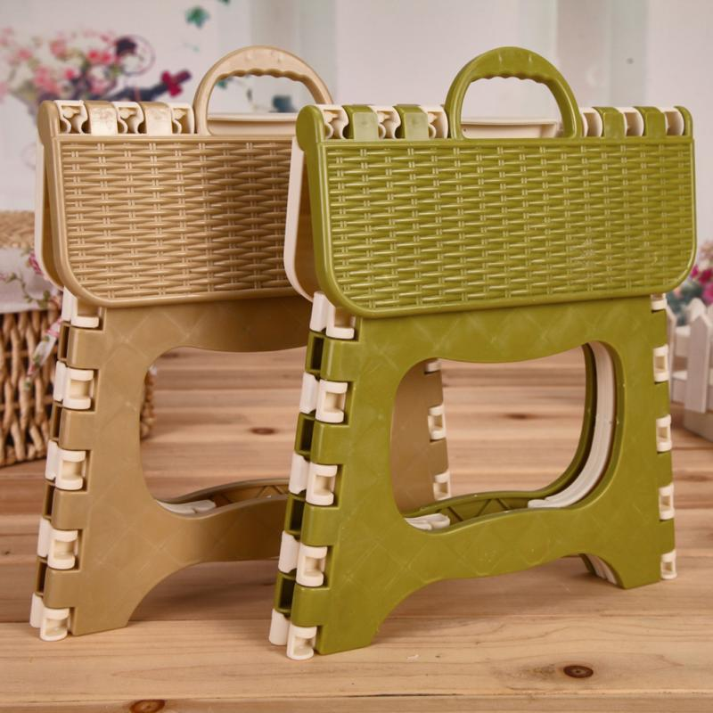 Foldable Plastic Kids Adults Stool Outdoor Activity Bathroom Bench Portable Tool Home Traveling Necessity #6
