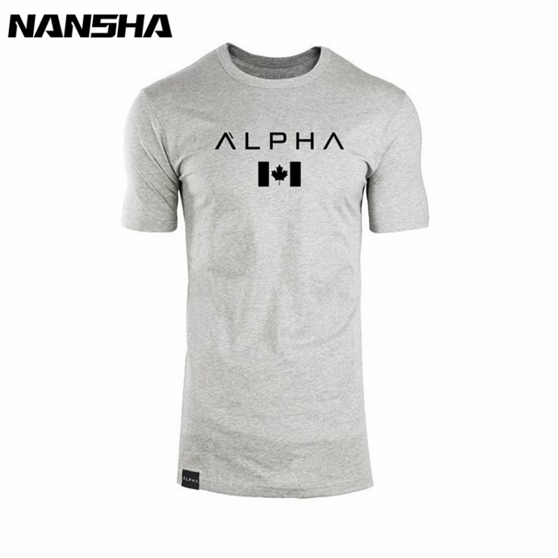 New Clothing Fashion T Shirt Men Cotton Breathable Mens Short Sleeve Fitness t-shirt Gyms Tee Tight Casual Summer Top 22