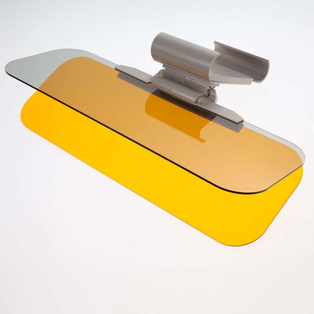 2in1 Auto Parasole Prevenire Dazzle Specchio Auto Efficace Giorno Notte di Guida Vetro Antiriflesso Parasole Occhiali per la Visione Accessori