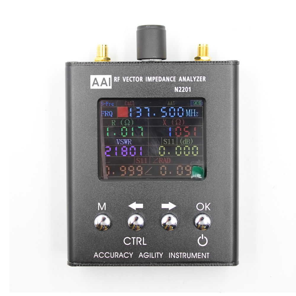 2018 Nouvelle Arrivée N2201SS 140 mhz-2.7 ghz UV RF ANT SWR Antenne Analyzer Compteur Testeur Radio testeur mise à niveau verison de N1201SA