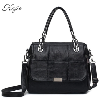 2018 Genuine Leather Women Bag Designer Brands Fashion Women Messenger Bags High Quality Large Capacity Soft Crossbody Bags