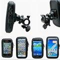 Universal para Bicicleta Mango Teléfono Horquilla Del Montaje Del Manillar de La Motocicleta Impermeable del bolso del Caso Del Teléfono Celular Para El Teléfono Móvil