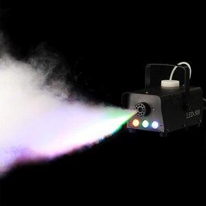 Image 2 - Aimkeeg 500W Wireless LEDหมอกควันรีโมทRGBสีควันEjector LED Professional DJ Party Stage Light