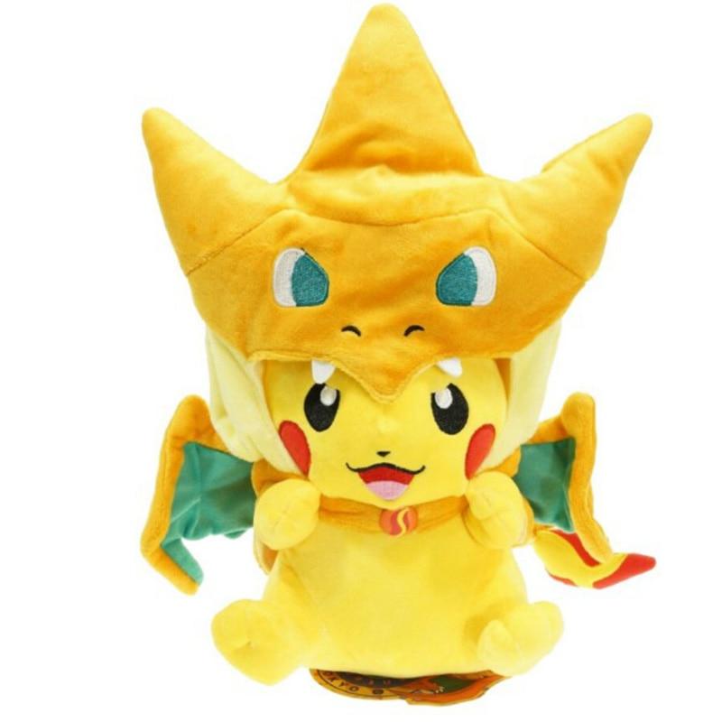 Pikachu Cosplay Plush Toy 1