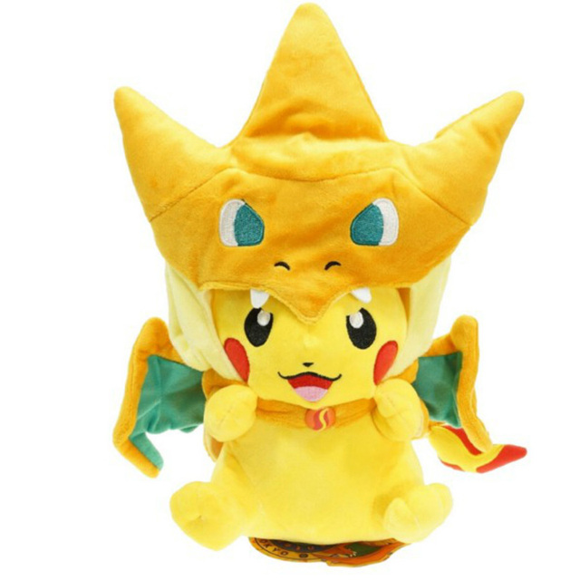 Pikachu Cosplay Plush Toy For Kids